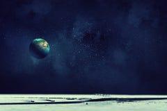 Ο γήινος πλανήτης μας Μικτά μέσα Στοκ φωτογραφίες με δικαίωμα ελεύθερης χρήσης