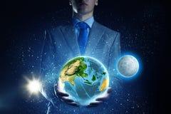 Ο γήινος πλανήτης μας Στοκ εικόνες με δικαίωμα ελεύθερης χρήσης
