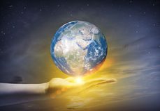 Ο γήινος πλανήτης μας Στοκ Εικόνες