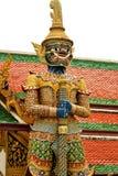 Ο γίγαντας μύθου στέκεται στο phra Wat kaew, Μπανγκόκ Ταϊλάνδη Στοκ εικόνα με δικαίωμα ελεύθερης χρήσης