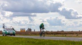 Ο γαλλικός ποδηλάτης Rolland Pierre Στοκ φωτογραφίες με δικαίωμα ελεύθερης χρήσης