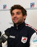 Ο γαλλικός tennisman Arnaud επιεικής Στοκ Εικόνες