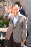 Ο Γενικός Γραμματέας των Ηνωμένων Εθνών Ban Ki-moon παρευρίσκεται στις ΗΠΑ ανοίγει τον τελικό αγώνα 2016 ατόμων ` s Στοκ Φωτογραφία
