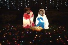 ο γεννημένος Ιησούς απόθεμα βίντεο