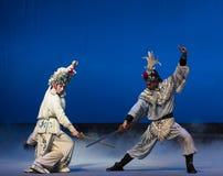 """Ο γερανός η κάδος-πέμπτη πράξη κλέβει αθάνατος-Kunqu Opera""""Madame άσπρο Snake† Στοκ Φωτογραφία"""