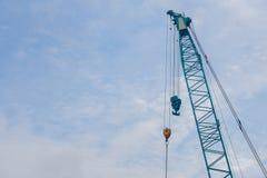 Ο γερανός κατασκευής Στοκ εικόνες με δικαίωμα ελεύθερης χρήσης