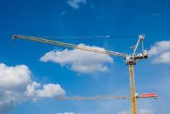 Ο γερανός οικοδόμησης Στοκ εικόνα με δικαίωμα ελεύθερης χρήσης
