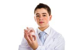Ο γιατρός παιδιών καθιστά ιατρικό orthodontics φιλικό στοκ εικόνα με δικαίωμα ελεύθερης χρήσης