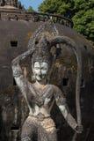 Ο γιγαντιαίος Βούδας - άγαλμα χαλκού στο Po Lin μοναστήρι Στοκ Εικόνα
