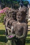 Ο γιγαντιαίος Βούδας - άγαλμα χαλκού στο Po Lin μοναστήρι Στοκ εικόνα με δικαίωμα ελεύθερης χρήσης