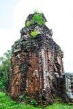 Ο γιος μου, αρχαία ινδά tamples του πολιτισμού Cham στο Βιετνάμ κοντά στις πόλεις Hoi και DA Nang Στοκ φωτογραφία με δικαίωμα ελεύθερης χρήσης
