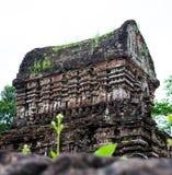 Ο γιος μου, αρχαία ινδά tamples του πολιτισμού Cham στο Βιετνάμ κοντά στις πόλεις Hoi και DA Nang Στοκ Εικόνες