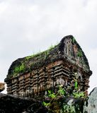 Ο γιος μου, αρχαία ινδά tamples του πολιτισμού Cham στο Βιετνάμ κοντά στις πόλεις Hoi και DA Nang Στοκ εικόνα με δικαίωμα ελεύθερης χρήσης