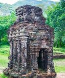 Ο γιος μου, αρχαία ινδά tamples του πολιτισμού Cham στο Βιετνάμ κοντά στις πόλεις Hoi και DA Nang Στοκ Φωτογραφίες