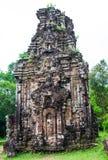 Ο γιος μου, αρχαία ινδά tamples Cham στο Βιετνάμ Στοκ φωτογραφίες με δικαίωμα ελεύθερης χρήσης