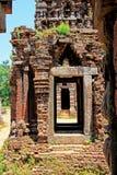 Ο γιος μου, παγκόσμια κληρονομιά της ΟΥΝΕΣΚΟ του Βιετνάμ Στοκ Εικόνες