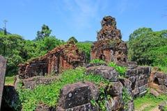 Ο γιος μου, παγκόσμια κληρονομιά της ΟΥΝΕΣΚΟ του Βιετνάμ Στοκ Φωτογραφίες