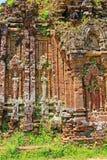 Ο γιος μου, παγκόσμια κληρονομιά της ΟΥΝΕΣΚΟ του Βιετνάμ Στοκ εικόνες με δικαίωμα ελεύθερης χρήσης