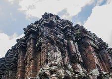 Ο γιος μου - ruines hinduism στο Βιετνάμ Στοκ Φωτογραφία