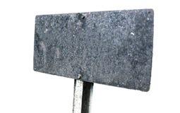 Ο γκρίζος σίδηρος καθοδηγεί απομονωμένος σε ένα άσπρο υπόβαθρο Στοκ Εικόνες