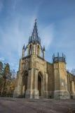 Ο γοτθικός ναός Στοκ Φωτογραφίες