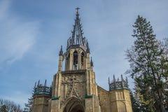 Ο γοτθικός ναός Στοκ φωτογραφία με δικαίωμα ελεύθερης χρήσης