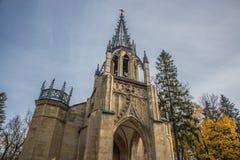 Ο γοτθικός ναός Στοκ Εικόνες