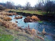 Ο γραφικός ποταμός είναι πολύ όμορφος στοκ φωτογραφίες με δικαίωμα ελεύθερης χρήσης