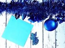 2$ο γραφικό νέο έτος υπολογιστών Χριστουγέννων καρτών designe Στοκ Φωτογραφίες