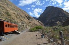 Ο γύρος τραίνων μύτης διαβόλων, Ισημερινός Στοκ Εικόνες