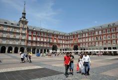 Ο δήμαρχος Plaza, ένα από το κεντρικό τετράγωνο του κεφαλαίου, έχτισε κατά τη διάρκεια του Habsbourg Στοκ Εικόνες