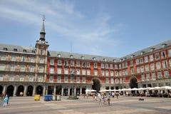 Ο δήμαρχος Plaza, ένα από το κεντρικό τετράγωνο του κεφαλαίου, έχτισε κατά τη διάρκεια του Habsbourg Στοκ φωτογραφίες με δικαίωμα ελεύθερης χρήσης
