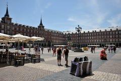 Ο δήμαρχος Plaza, ένα από το κεντρικό τετράγωνο του κεφαλαίου, έχτισε κατά τη διάρκεια του Habsbourg Στοκ Εικόνα