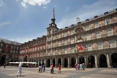 Ο δήμαρχος Plaza, ένα από το κεντρικό τετράγωνο του κεφαλαίου, έχτισε κατά τη διάρκεια του Habsbourg Στοκ φωτογραφία με δικαίωμα ελεύθερης χρήσης
