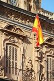 Ο δήμαρχος Plaza, Σαλαμάνκα, Ισπανία Στοκ εικόνα με δικαίωμα ελεύθερης χρήσης