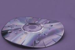 ο δίσκος διαστρέβλωσε &Iot Στοκ εικόνα με δικαίωμα ελεύθερης χρήσης