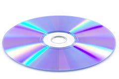 Ο δίσκος DVD απομονώνει Στοκ Εικόνες