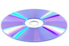 Ο δίσκος DVD απομονώνει Στοκ φωτογραφία με δικαίωμα ελεύθερης χρήσης