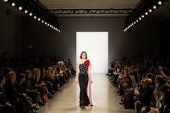 Ο διάδρομος Toi FW19 Zang παρουσιάζει ως τμήμα εκεί της εβδομάδας μόδας της Νέας Υόρκης στοκ φωτογραφία
