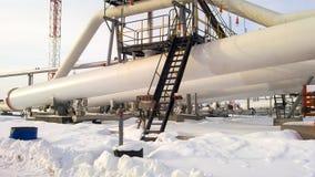 Ο διαιρέτης φάσης τελών είναι σωληνοειδής Εξοπλισμός για το νερό από το πετρέλαιο Πετρελαιοφόρες περιοχές εξοπλισμού της δυτικής  στοκ φωτογραφίες με δικαίωμα ελεύθερης χρήσης