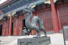 Ο δράκος σιδήρου, Κίνα στοκ εικόνα με δικαίωμα ελεύθερης χρήσης