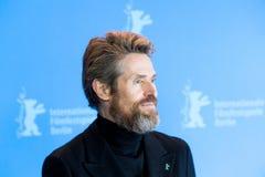 Ο δράστης Willem Dafoe θέτει κατά τη διάρκεια του 68ου Berlinale το 2018 Στοκ Φωτογραφία