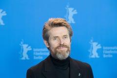 Ο δράστης Willem Dafoe θέτει κατά τη διάρκεια του 68ου Berlinale το 2018 Στοκ φωτογραφία με δικαίωμα ελεύθερης χρήσης