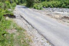 Ο δρόμος από το ρεύμα Στοκ εικόνα με δικαίωμα ελεύθερης χρήσης