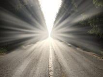 Ο δρόμος μπροστά Στοκ φωτογραφίες με δικαίωμα ελεύθερης χρήσης