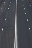 Ο δρόμος πηγαίνει στο άπειρο Στοκ εικόνες με δικαίωμα ελεύθερης χρήσης