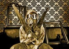 ο Δρ gas gore mask Στοκ Φωτογραφίες