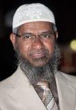 Ο Δρ Zakir Abdul Karim Naik Στοκ Φωτογραφίες