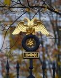 Ο δύο-διευθυνμένος αετός στοκ εικόνα