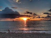 Ο Ειρηνικός Ωκεανός και η άποψη στοκ φωτογραφία με δικαίωμα ελεύθερης χρήσης